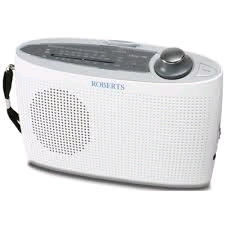 Roberts Radio Classic LW/FM/MW Portable Battery WHITE