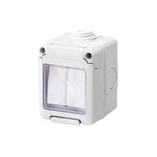 Gewiss 10A 2Gang 2Way Switch IP55 (EMG011)