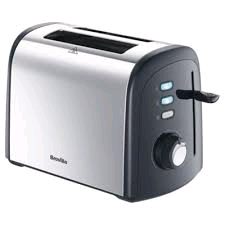 Breville 2 Slice Toaster Polished Stainless Steel