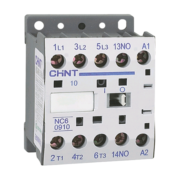 Chint 230V 9A AC3 Mini Contactor 2 main + 2 N/C Aux.
