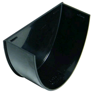 Floplast Hi-Cap 115mm Internal Stopend Black REH2B