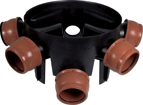 Floplast 160mm Large Inspection Chamber 6D900