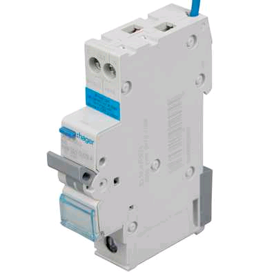 "Hager 6a SP "" B"" Rated RCBO"