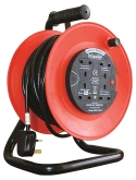 Infapower X815 4 Socket 13Amp 50mtr Extension Reel