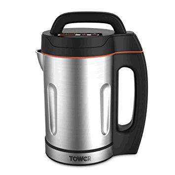 Tower Soup Maker 1.6L Capacity Chunky or Smooth Stainless Steel Blades