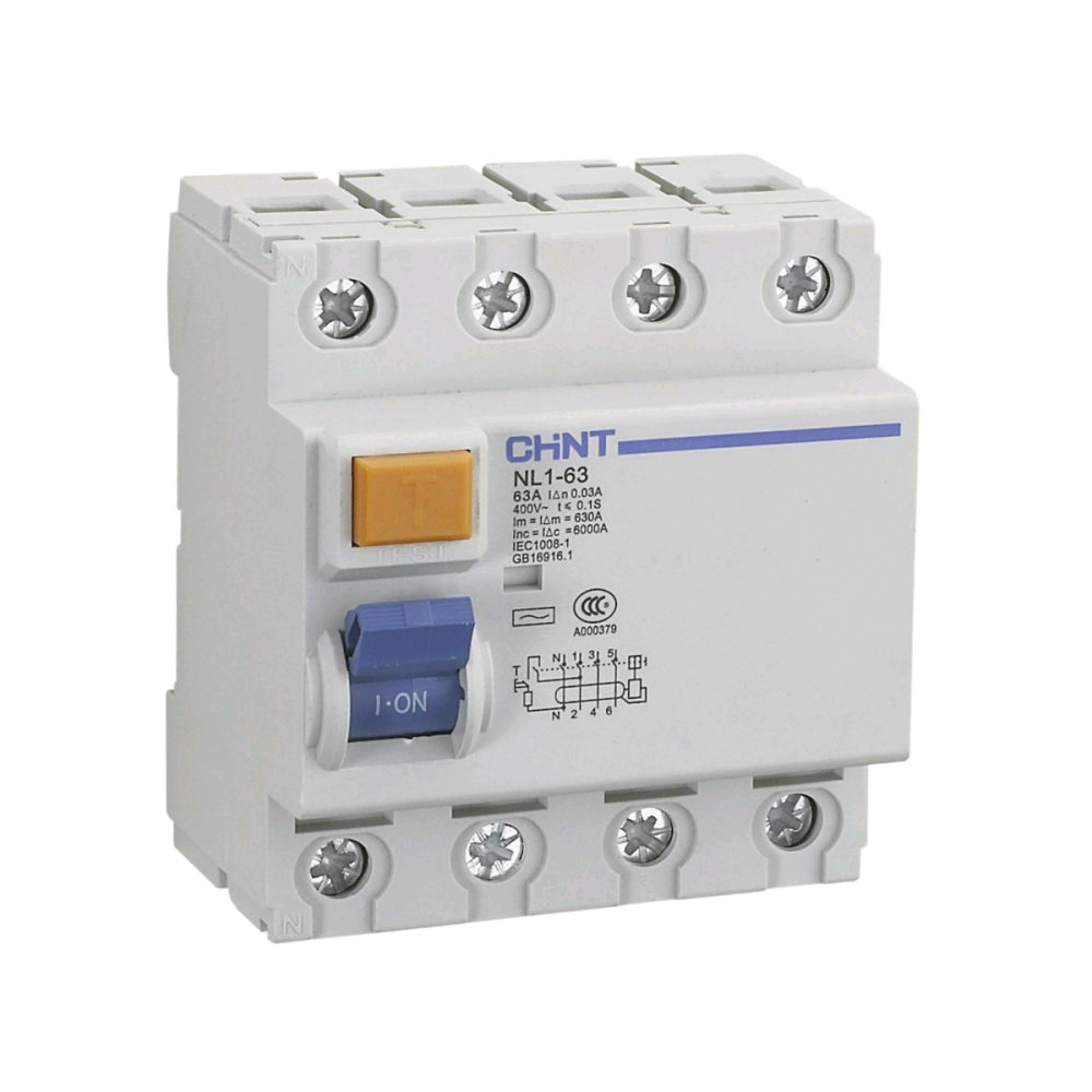 Chint 4Pole RCD 100A 300mA