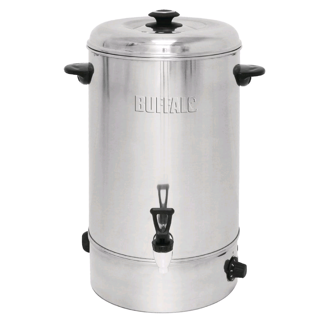 Buffalo GL347 Manual Fill Water Boiler 20Ltr Stainless Steel Catering Urn