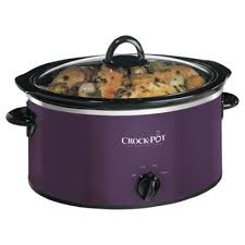 Crock Pot Slow Cooker 3.5L Purple