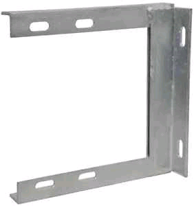 "Maxview Wall Bracket 4.5"" Galvanised"