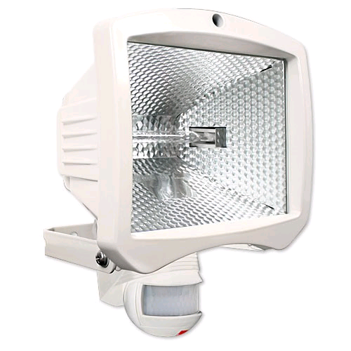 BEG FLC500 200° PIR Halogen Floodlight White