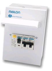 Niglon Metal Garage Unit 63A30mA +6A & 16A