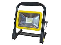 Faithfull 20W SMD Folding Rechargeable Site Light