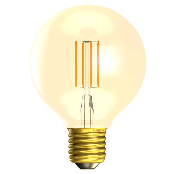 Bell Vintage Dimmable 4w ES LED Globe 80 Amber 2000K