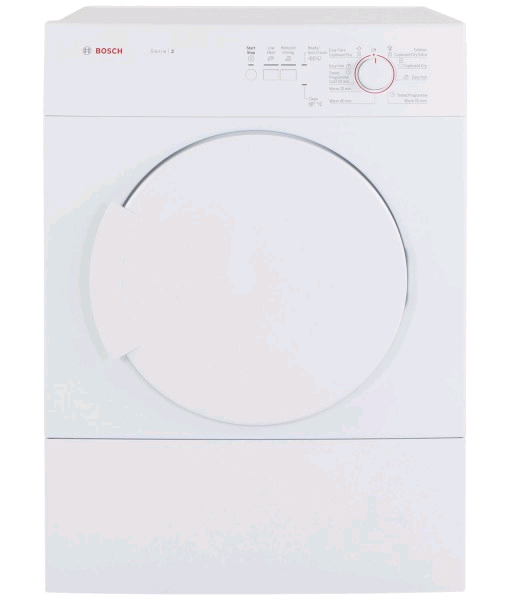 Bosch Vented Tumble Dryer 6kg Sensor Dry