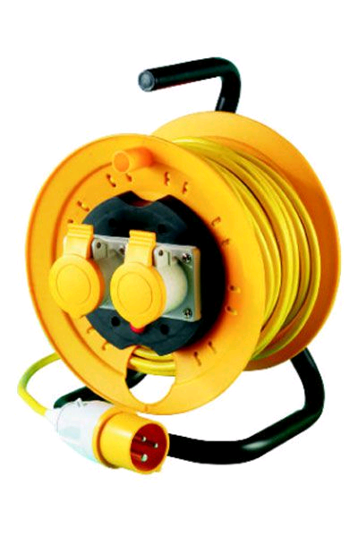 Thorsman 2Gang 40Mtr 110V Extension Reel
