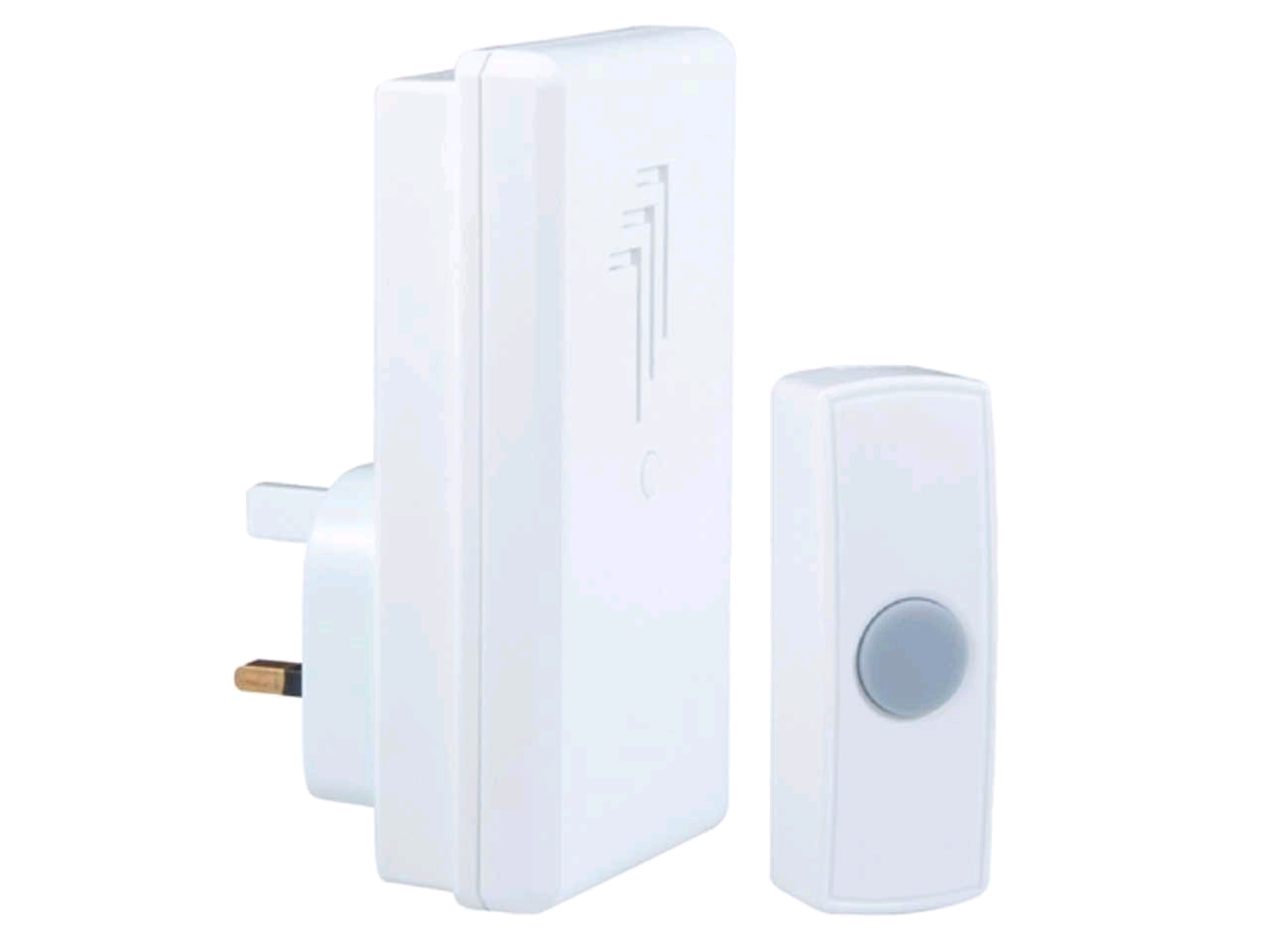 Byron Plug In Wireless Door Bell 30mtr Range