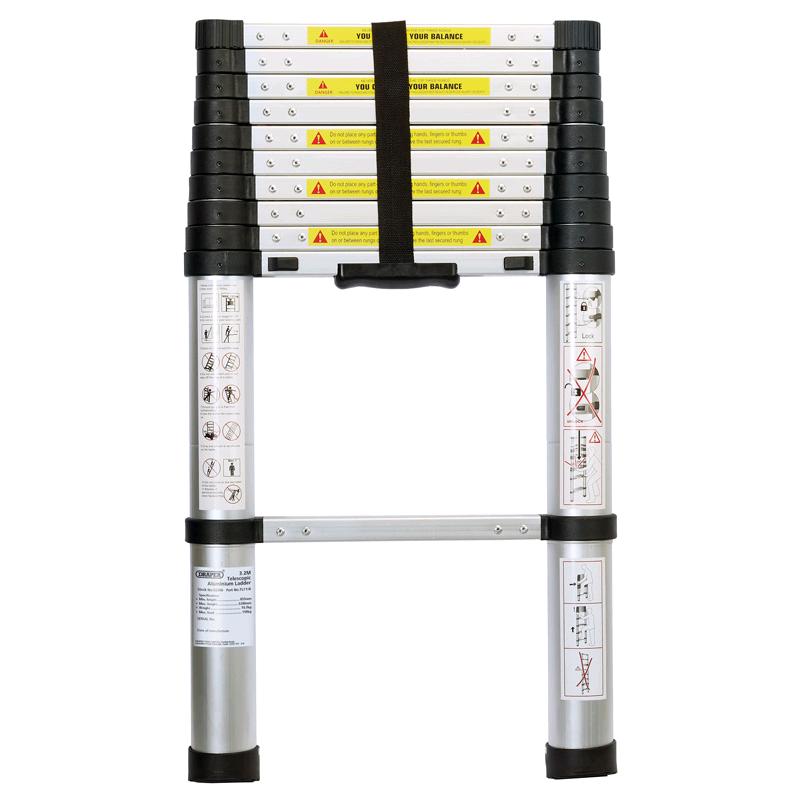Draper 11 Rung Telescopic Ladder