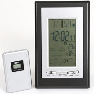 BRIERS B5250 WEATHER STATION DIGITAL WITH OUTDOOR SENSOR