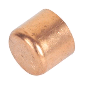 Copper End Cap (Stop End) 35mm Endfeed