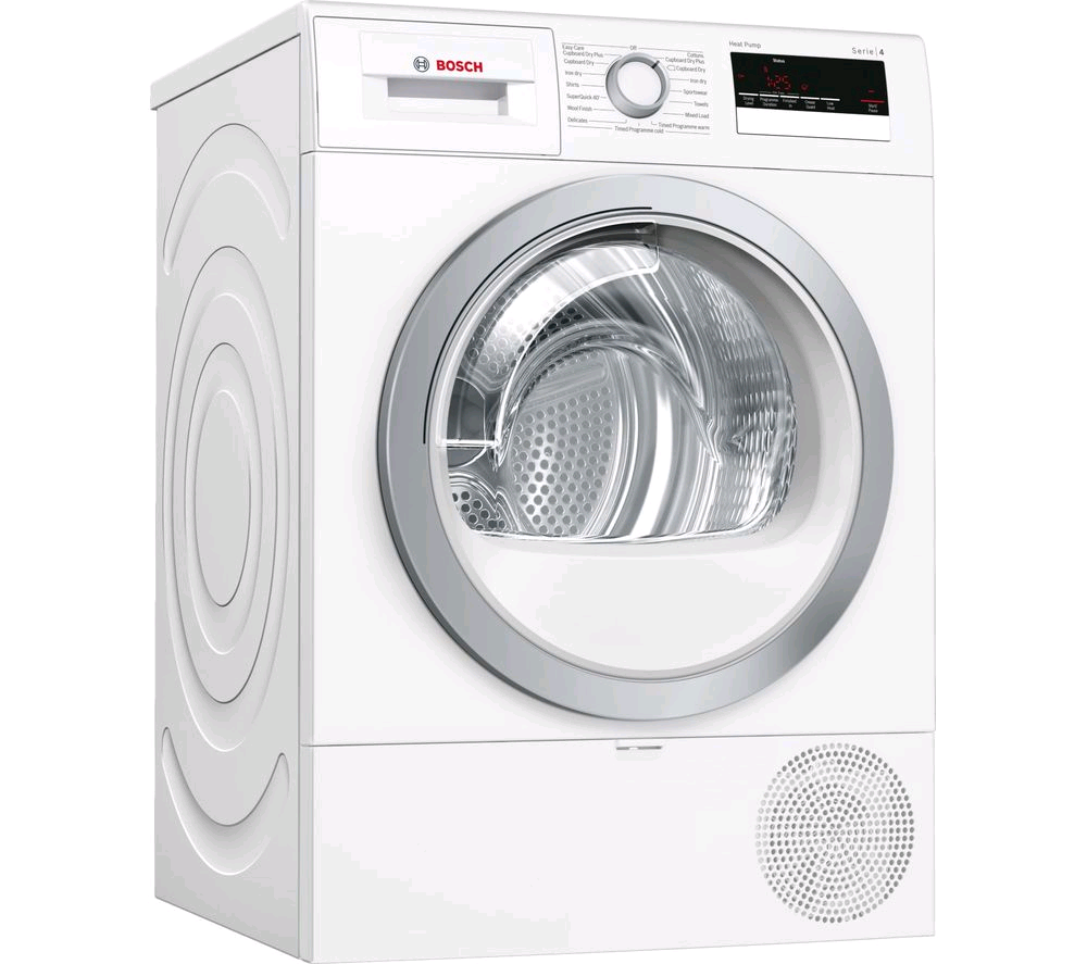 Bosch Condencer Heat Pump Tumble Dryer 8kg