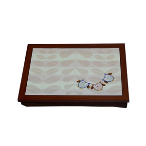 Home Living Natural Owl Lap Tray