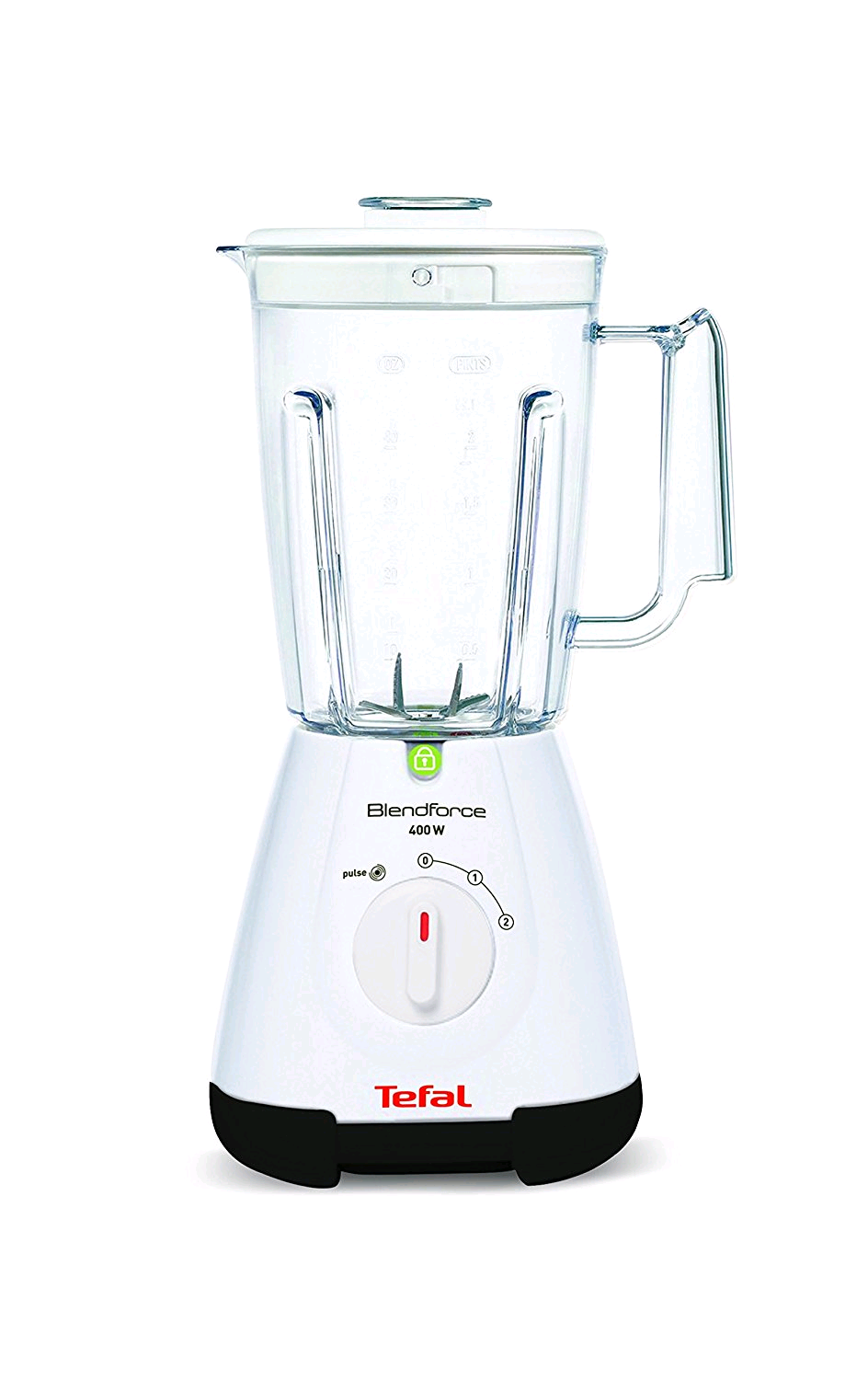 Tefal Blendforce Blender with 1.75 Litre Plastic Jug - White