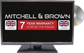 "Mitchell & Brown 43"" LED Full HD TV, T2 Tuner SMART, Freeview Play, Built In DVD Player WARRANTY MUST BE REGISTERED"