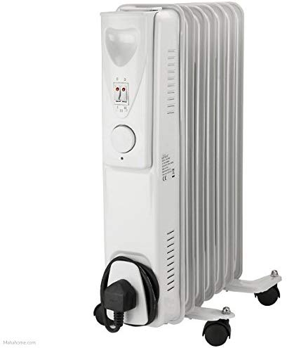 Daewoo Oil Filled Radiator 1500w c/w Thermostat