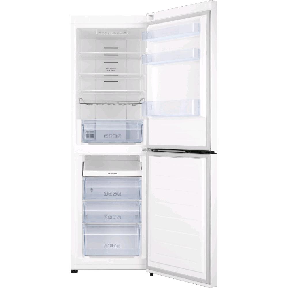 Hisense Frost Free Fridge Freezer White H-185.4 W59. 206/124litre