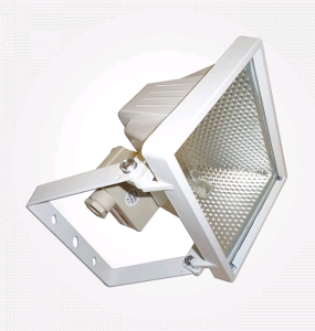 Eterna 400w Halogen Floodlight White
