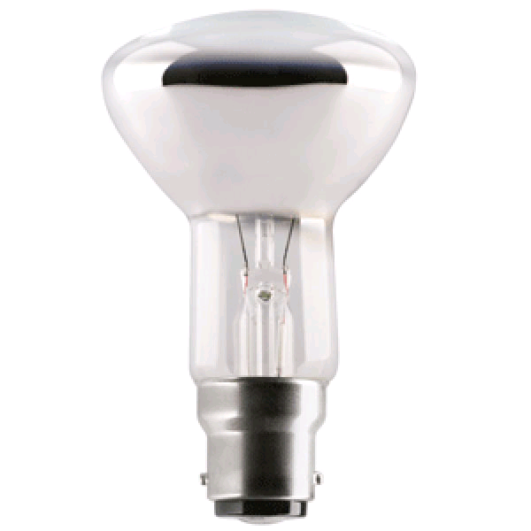 Lamp R64 BC 60w Diffused