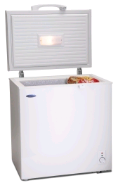 Ice King Chest Freezer 145Ltr White H845 W760 D560 5 Cu.ft