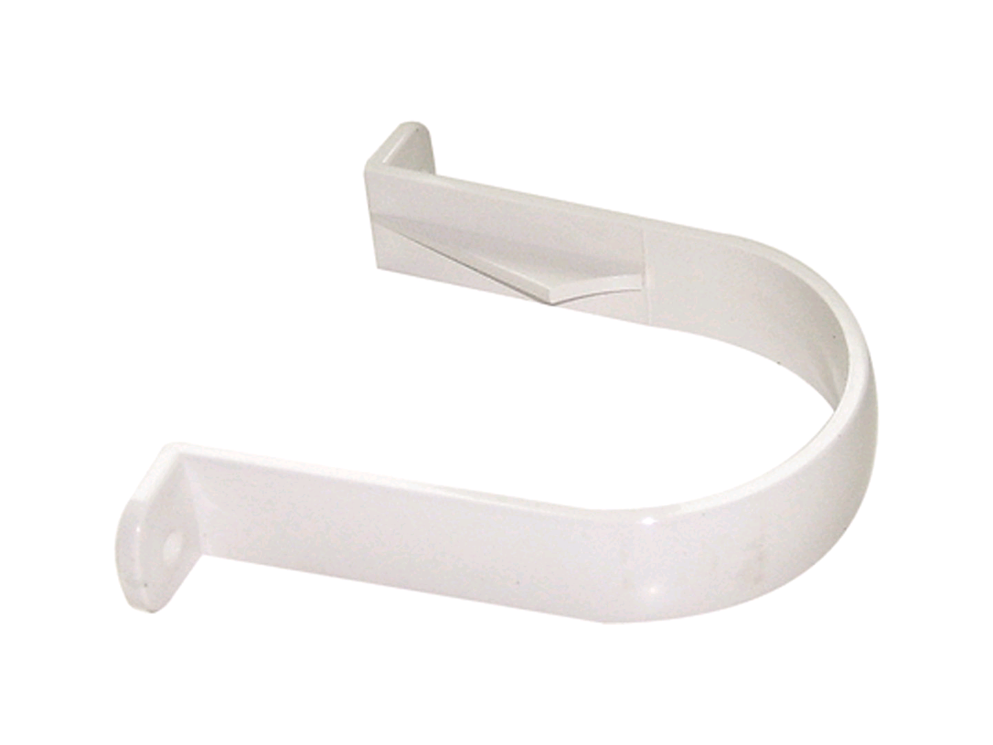 Floplast 68mm Downpipe Round Clips White