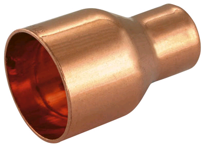 Copper 35 x 15mm Fitting Reducer Endfeed
