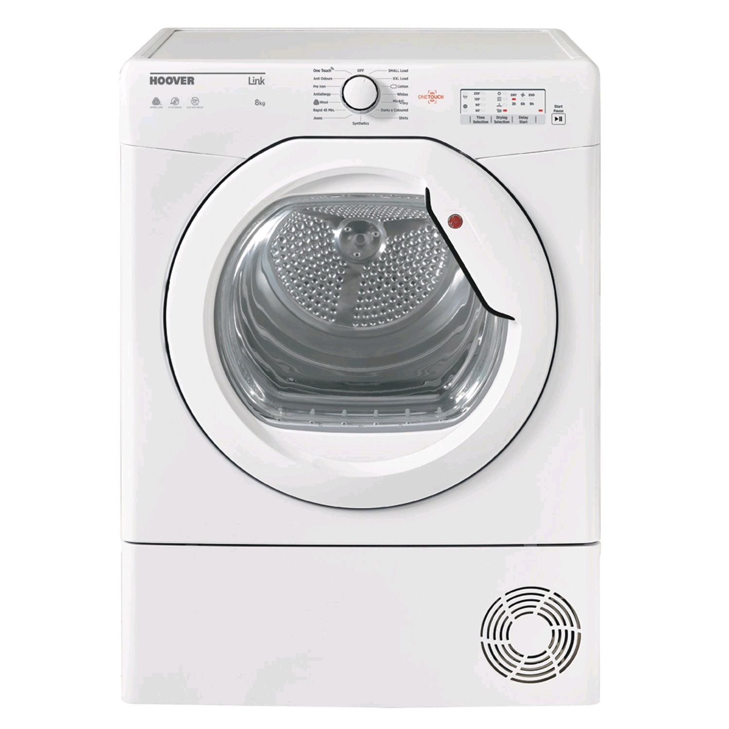 Hoover 8KG Condenser Tumble Dryer(Chamber at base of machine)
