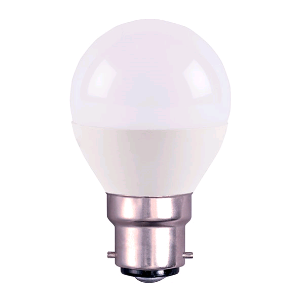Bell 4w BC LED Opal Golf Warm White