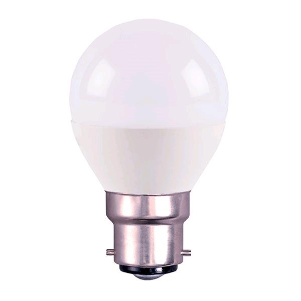 Bell 4w BC LED Opal Golf Warm White