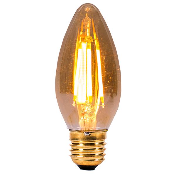 Bell Vintage 4w ES LED Candle Amber 2000K