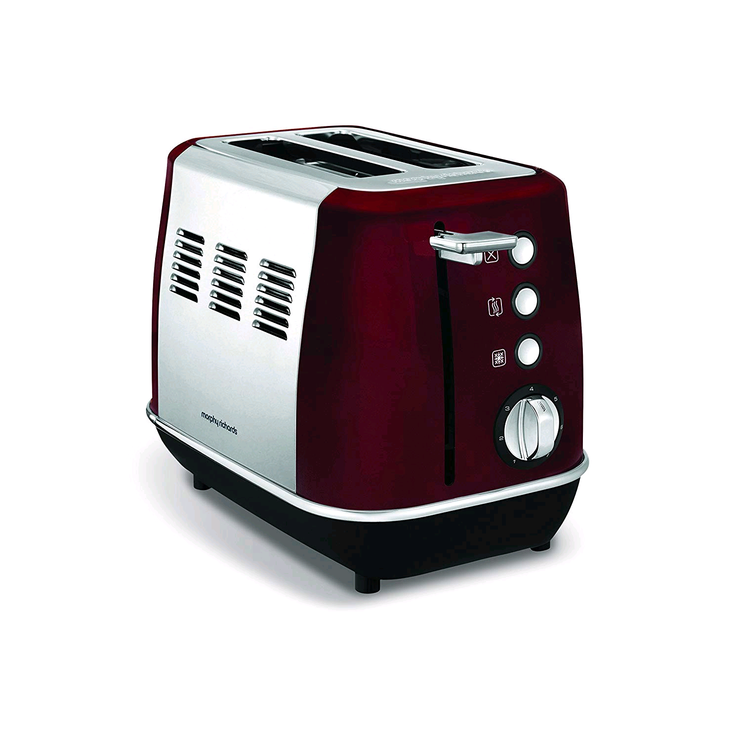 Morphy Richards Evoke 2 Slice Toaster Red