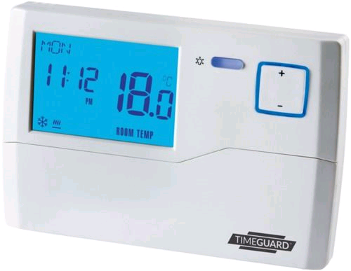 Timeguard 7 Day Programmable Room Thermostat With Frost Prot