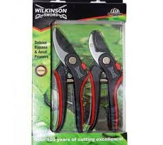 WILKINSON SWORD 1111174W GIFT BOXED BYPASS & ANVIL PRUNER SET LESS THAN HALF RRP