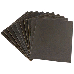 Draper Glass Paper Assorted Sheets 10 for 17163