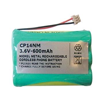 Energizer Cordless Phone Battery 3.6v 600mah