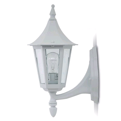 JCC Regal Upwards Lantern White