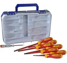 Faithfull 8 Piece VDE Screwdriver Set