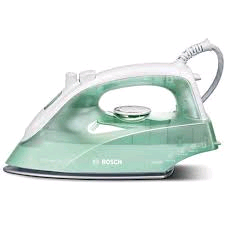Bosch Sensixx Steam Iron White/Green 2000w