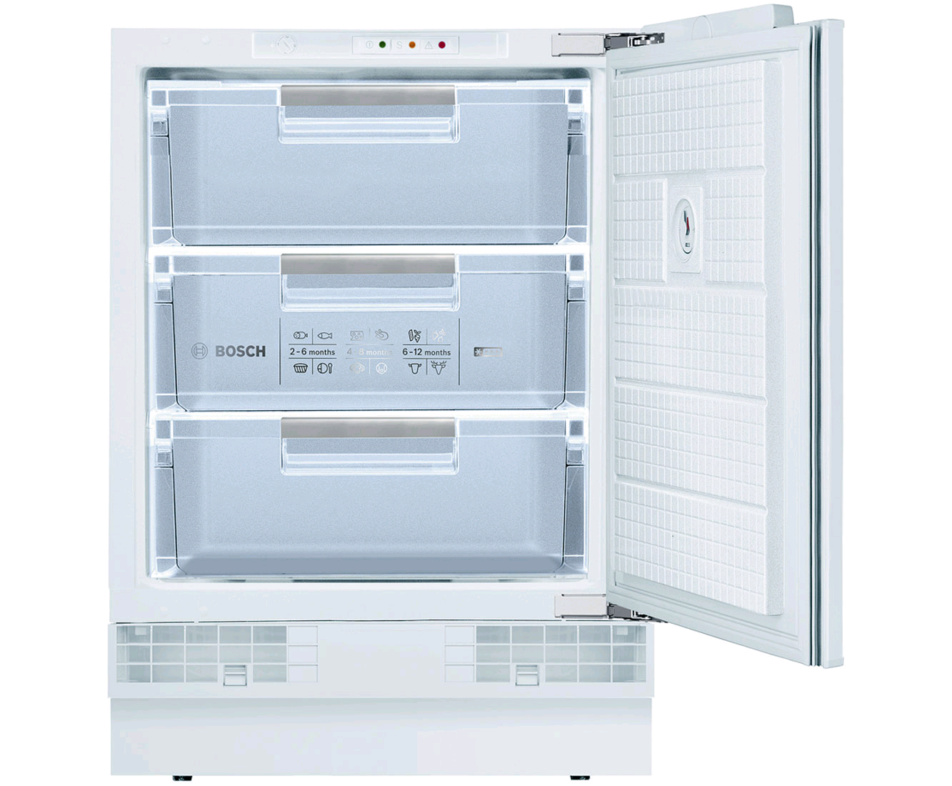 Bosch GUD15A50GB Series 6 Integrated Under Counter Freezer with Fixed Door Fixing Kit - A+ Rated Built under