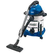 Draper Vacuum 30L Wet & Dry + Power 230V