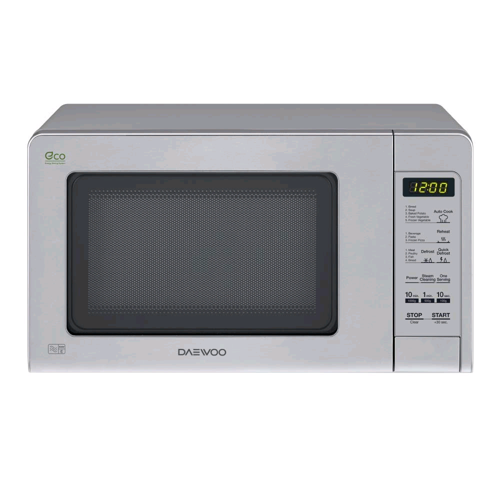 Daewoo KOR6M5RR Microwave 20L 800W Touch Control Stainless Steel