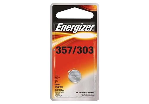 Energizer 357 - 303 Button Cell Battery SR1154 (Each)